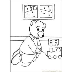 Little Brown Bear 10 Free Coloring Page for Kids