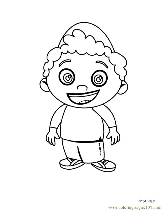 Little Einstein 13 Coloring Page Free Little Einsteins Einstein Coloring Pages