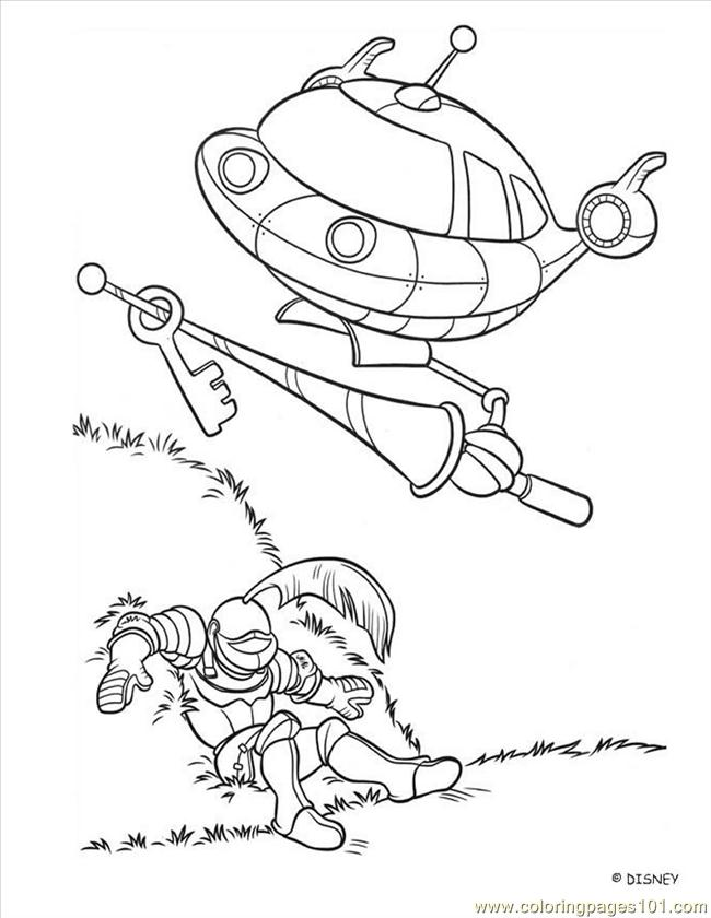 Little Einstein (15) Coloring Page