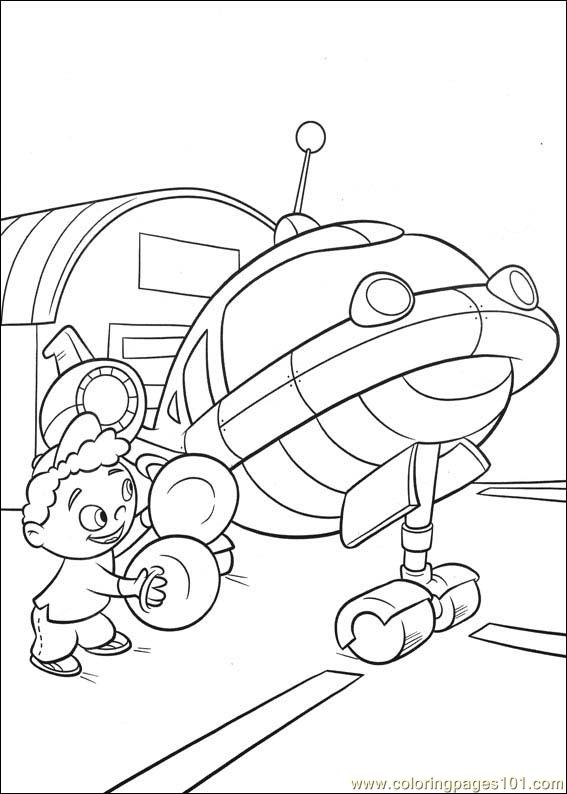 Little Einsteins 16 Coloring Page