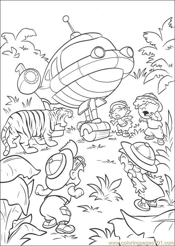 Little Einsteins 17 Coloring Page