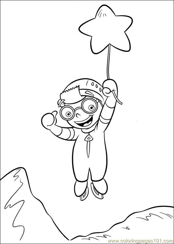 Little Einsteins Coloring Picture The Baby Dolittle World Animals ...