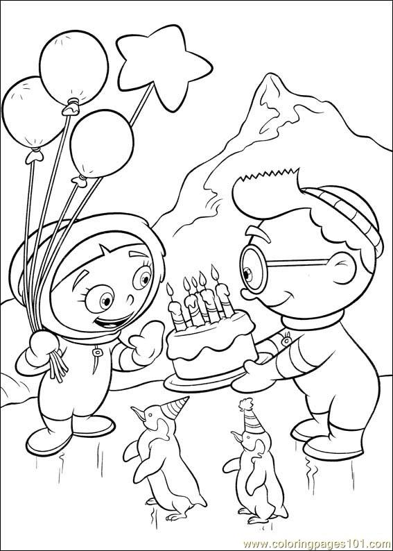 Little Einsteins 36 Coloring Page