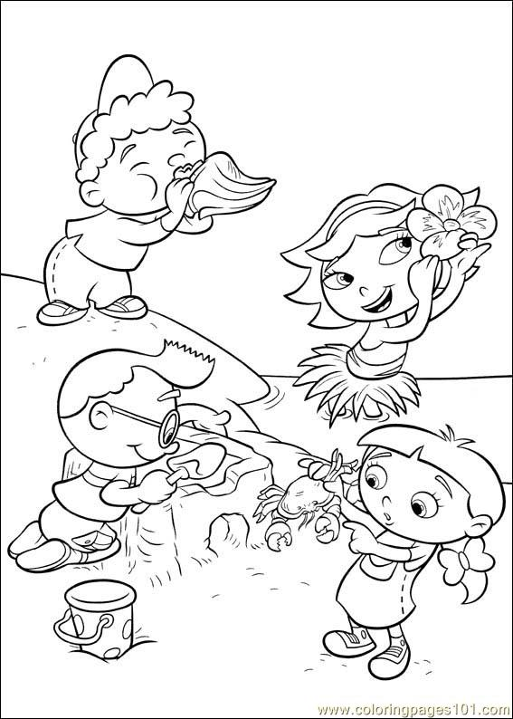 Little Einsteins 37 Coloring Page Free Little Einsteins Coloring