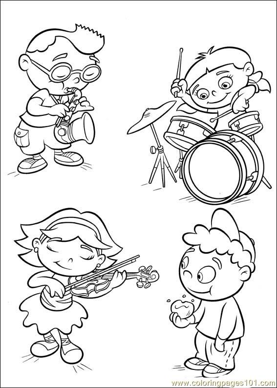 Little Einsteins 40 Coloring Page