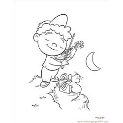 Little Einstein (14) Free Coloring Page for Kids
