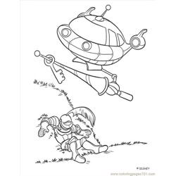 Little Einstein (15) Free Coloring Page for Kids