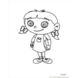Little Einstein (17) Free Coloring Page for Kids