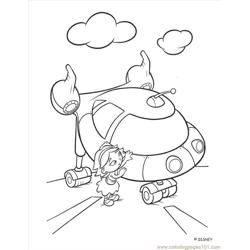 Little Einstein (5) Free Coloring Page for Kids