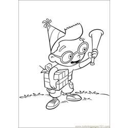 Little Einsteins 29 coloring page