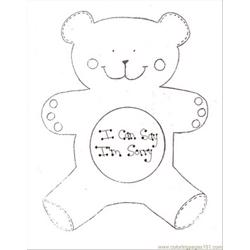 Poolarbear Free Coloring Page for Kids