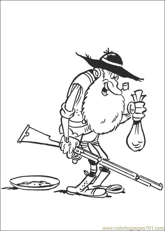 Luckyluke 18 Coloring Page