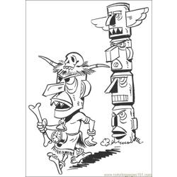 Luckyluke 41 coloring page