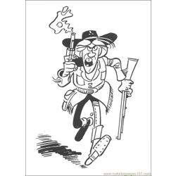 Luckyluke 46 coloring page
