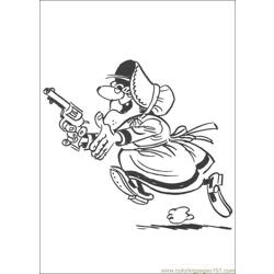 Luckyluke 47 coloring page