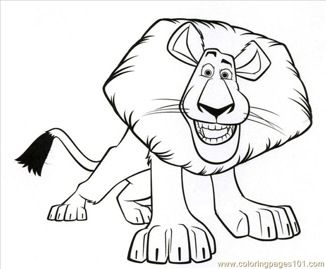 Mad Color3 Coloring Page