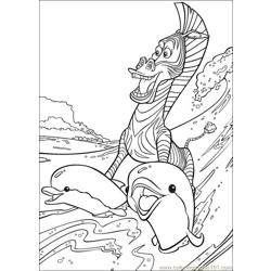 Madagascar 005 coloring page