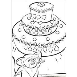 Madagascar2 36 coloring page
