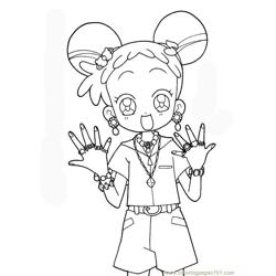 Magische Doremi 05 Free Coloring Page for Kids