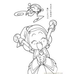 Magische Doremi 14 Free Coloring Page for Kids