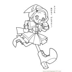 Magische Doremi 15 Free Coloring Page for Kids