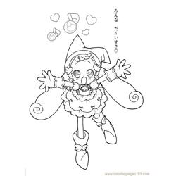 Magische Doremi 18 Free Coloring Page for Kids