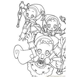 Magische Doremi 20 Free Coloring Page for Kids