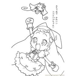 Magische Doremi 21 Free Coloring Page for Kids