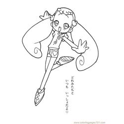 Magische Doremi 22 Free Coloring Page for Kids