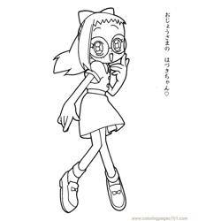 Magische Doremi 23 Free Coloring Page for Kids