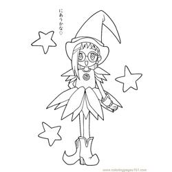 Magische Doremi 24 Free Coloring Page for Kids