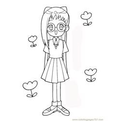 Magische Doremi 26 Free Coloring Page for Kids