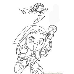 Magische Doremi 27 Free Coloring Page for Kids