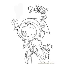 Magische Doremi 28 Free Coloring Page for Kids