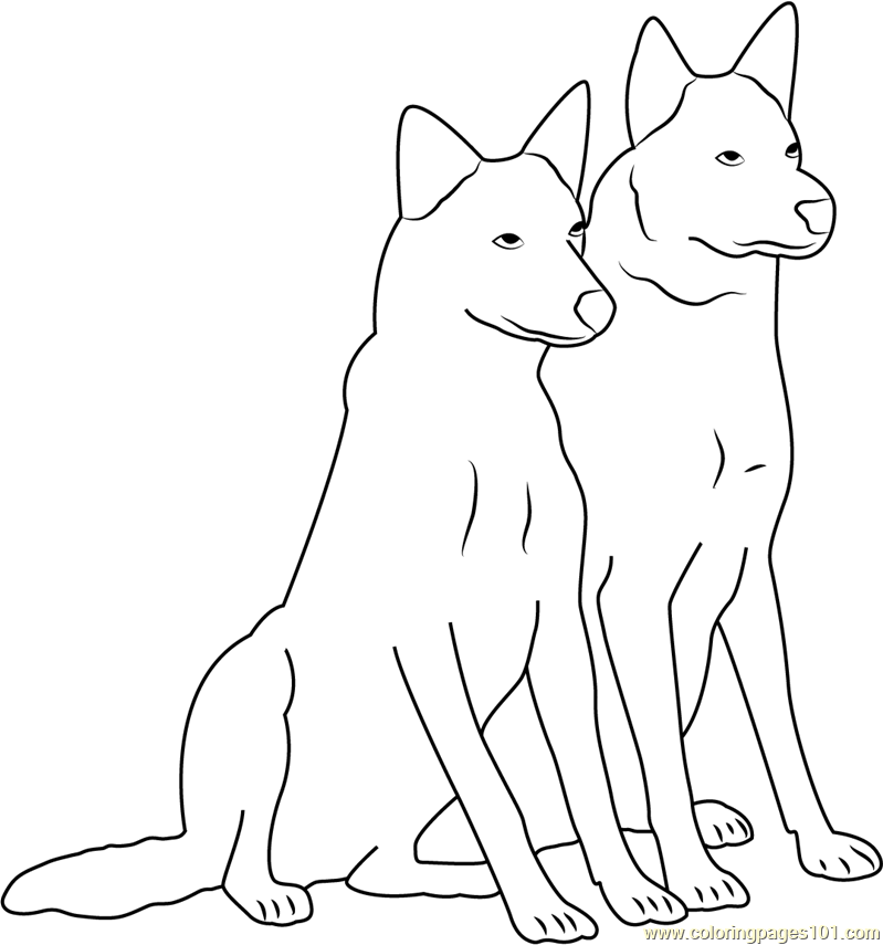 Friends Forever Coloring Page