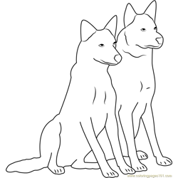 Friends Forever Free Coloring Page for Kids