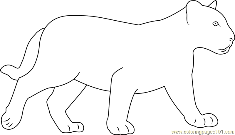free black panther coloring pages - photo#23