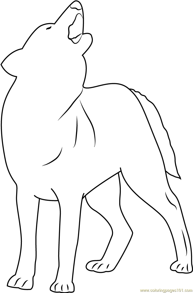Indian Wolf Coloring Page - Free Wolf Coloring Pages ...