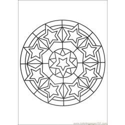 Mandalas 27 Free Coloring Page for Kids