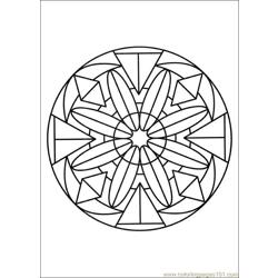 Mandalas 28 Free Coloring Page for Kids