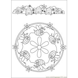 Mandalas 32 Free Coloring Page for Kids