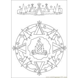 Mandalas 33 Free Coloring Page for Kids