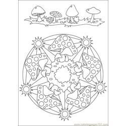 Mandalas 34 Free Coloring Page for Kids