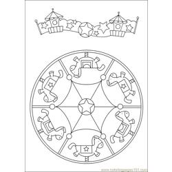 Mandalas 35 Free Coloring Page for Kids