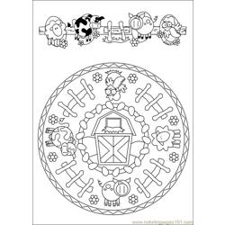 Mandalas 38 Free Coloring Page for Kids