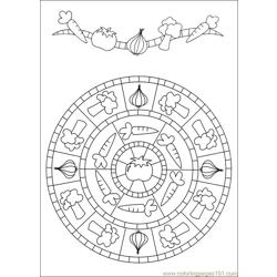 Mandalas 39 Free Coloring Page for Kids
