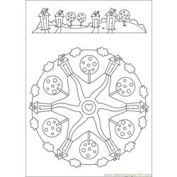Mandalas 40 Free Coloring Page for Kids