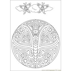 Mandalas 41 Free Coloring Page for Kids
