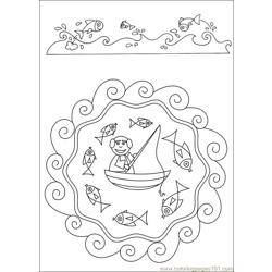Mandalas 42 Free Coloring Page for Kids