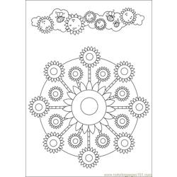 Mandalas 45 Free Coloring Page for Kids